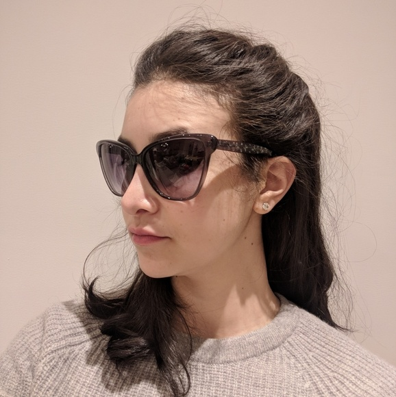 69a5c6a58e Bottega Veneta Accessories - Bottega Vaneta Oversized Cateye Sunglasses